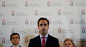 Javier Ramos, rector de la Universidad Rey Juan Carlos.