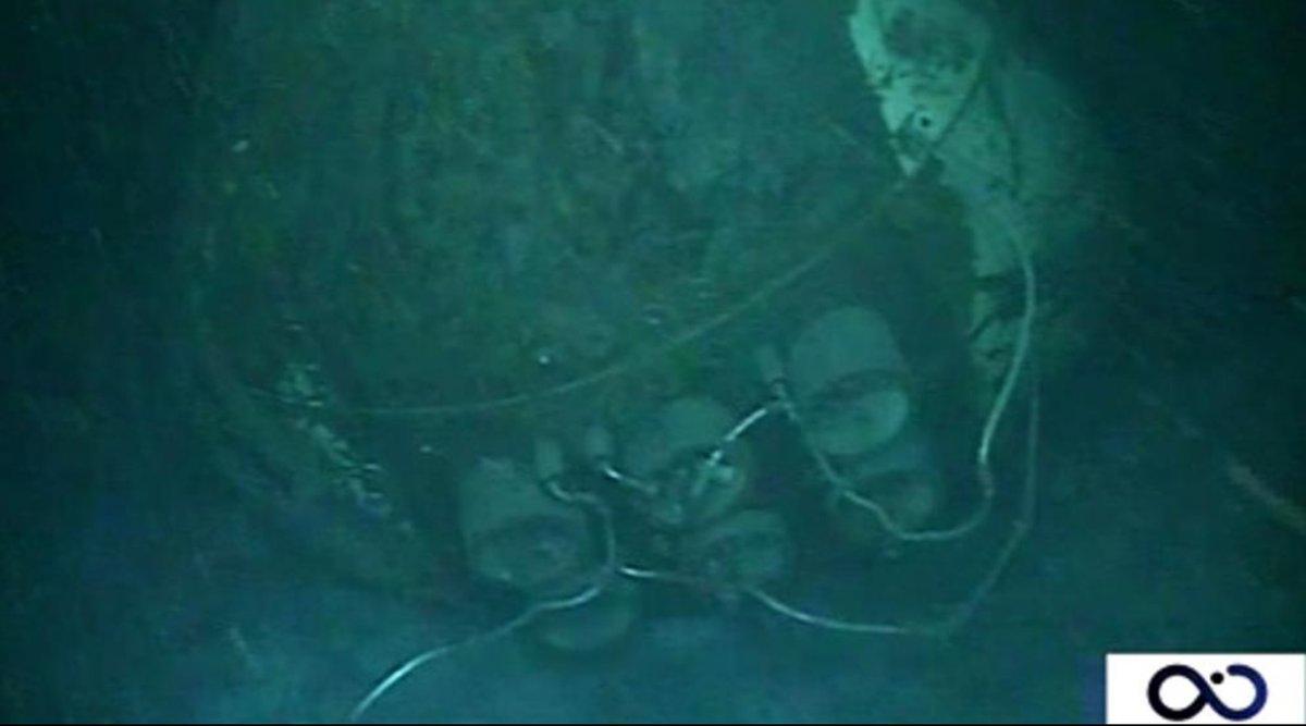 innovative design cheap price more photos Las imágenes del submarino ARA San Juan en el fondo del mar
