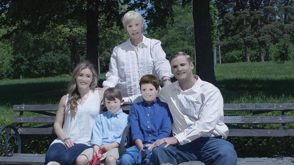 El retrato viral de la familia Zaring