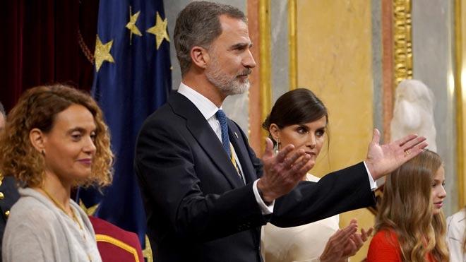 El Rei: «Espanya no pot ser dels uns contra els altres»