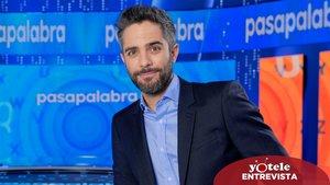 Roberto Leal en el plató de 'Pasapalabra'.
