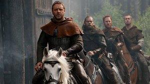 'Robin Hood' lidera por la mínima en La 1 frente al cine de Antena 3 y Telecinco