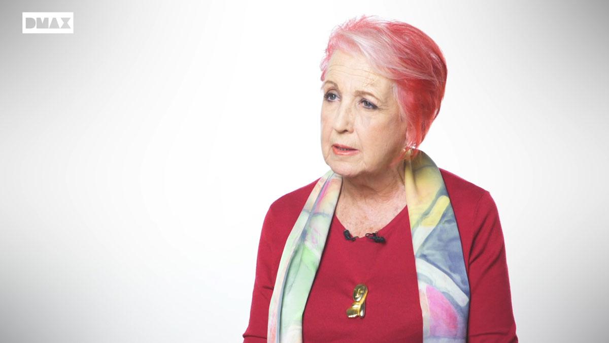 Rosa María Calaf habla del bombardeo de Hiroshima dentro del evento de DMax '12 meses de historia'.
