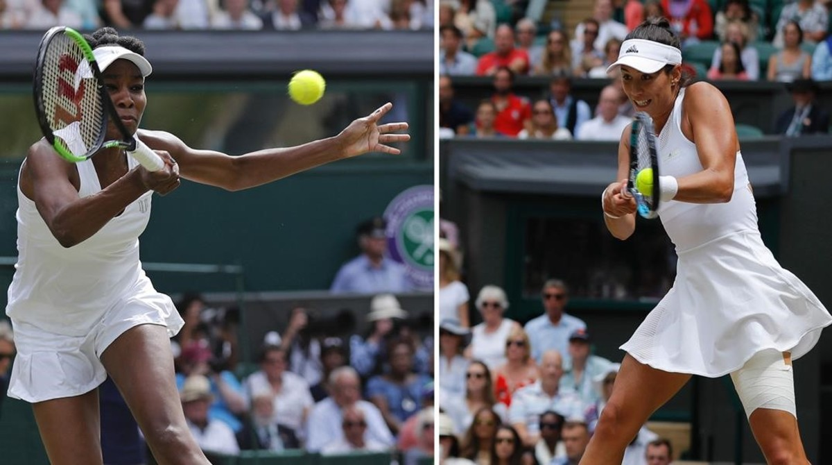 Horario y dónde ver por televisión la final de Wimbledon entre Garbiñe Muguruza y Venus Williams
