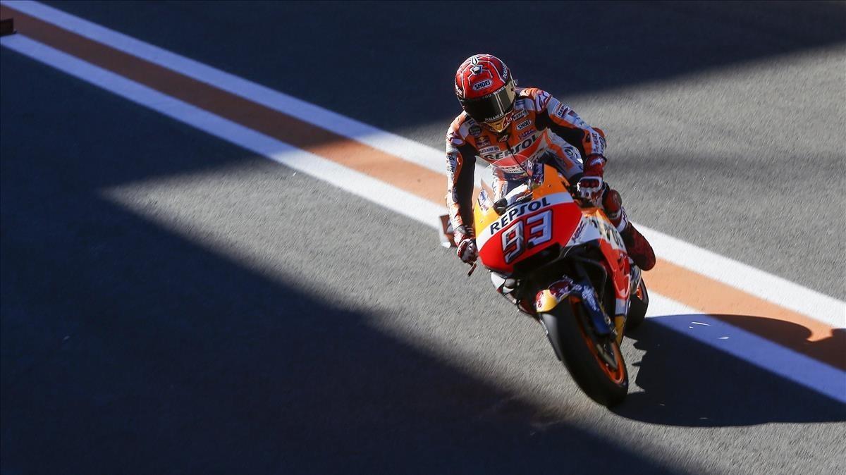 condado Igualmente Denso  Horario y dónde ver en TV la carrera de MotoGP del GP de Valencia