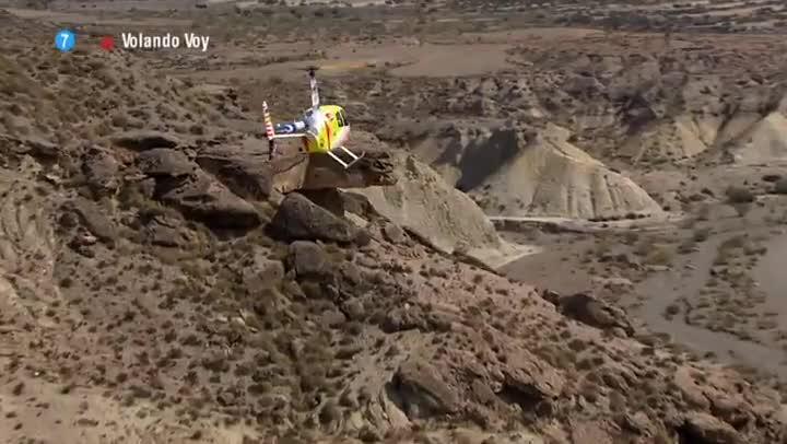 Vídeo promocional de la segunda temporada del programa de Jesús Calleja Volando voy (Cuatro).