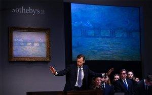 La casaSotheby's subasta obras de arte impresionista y moderno.