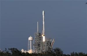Lanzamiento del SpaceX Falcon 9 con parte reciclada.