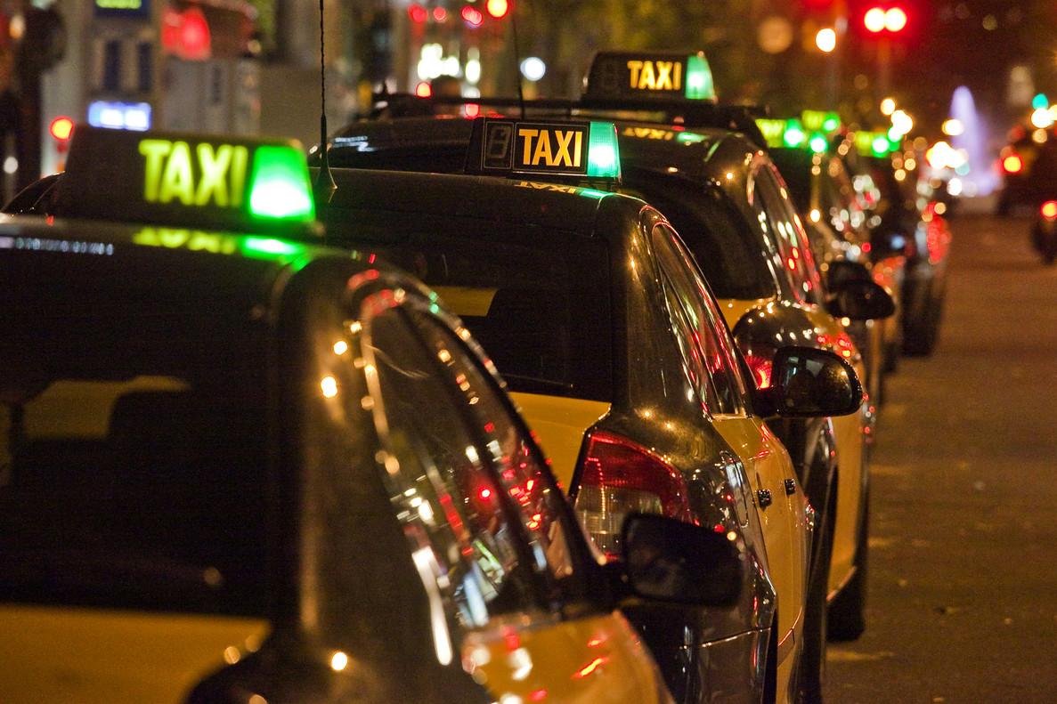 Taxis de Barcelona.
