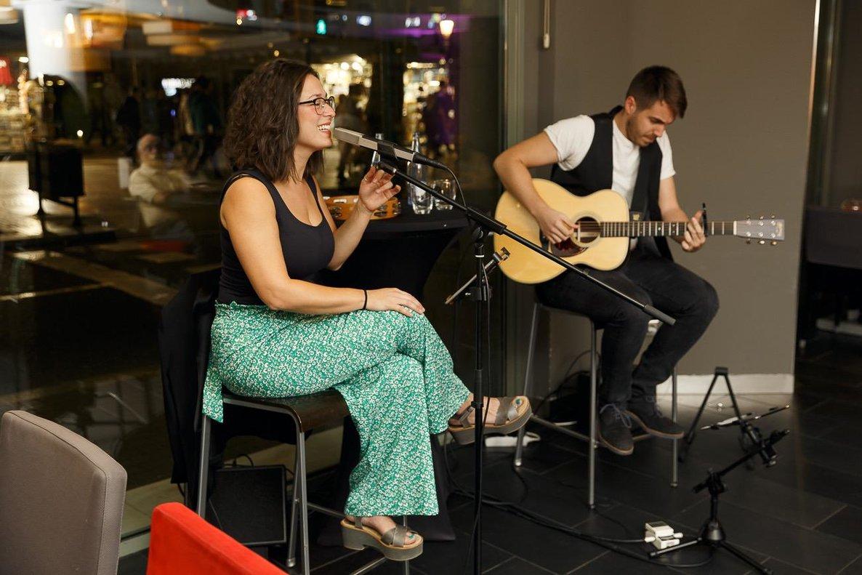 Agnés Fort y Nik Coris actuarán esta noche en el New Talents Evenings.