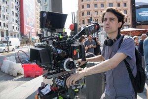 Jonás Trueba, durante el rodaje de la película.