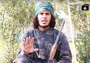 Una imagen del vídeo en el que los yihadistas del Estado Islámico amenazan con más ataques en los países de la coalición que bombardea sus posiciones en Siria.