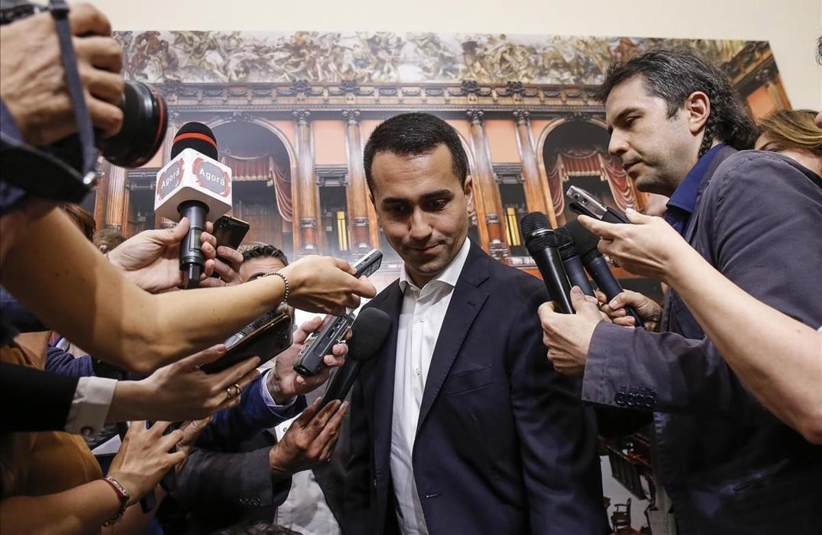 Di Maio amenaça amb retirar els 20.000 milions anuals a la UE si no actua en el cas del 'Diciotti'