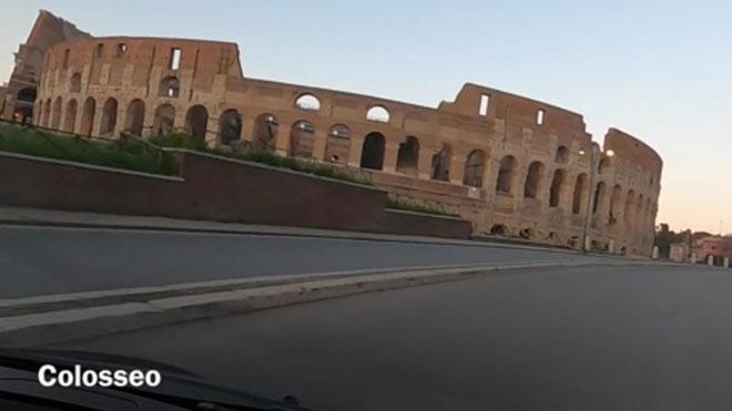 Viaje por la Roma desierta.