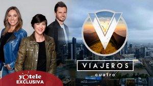 'Viajeros Cuatro' seguirá recorriendo el mundo: Mediaset premia al formato con la renovación por una tercera temporada