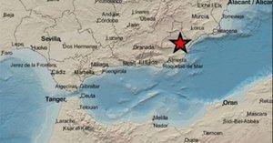 Registrat un terratrèmol de magnitud 3,4 a Almeria