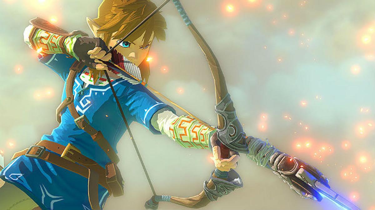 Imágen del nuevo videojuego de la saga Zelda