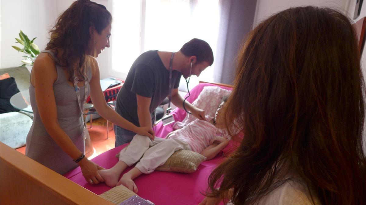 L'Hospital de la Vall d'Hebron obre una unitat pediàtrica per a pal·liatius i crònics