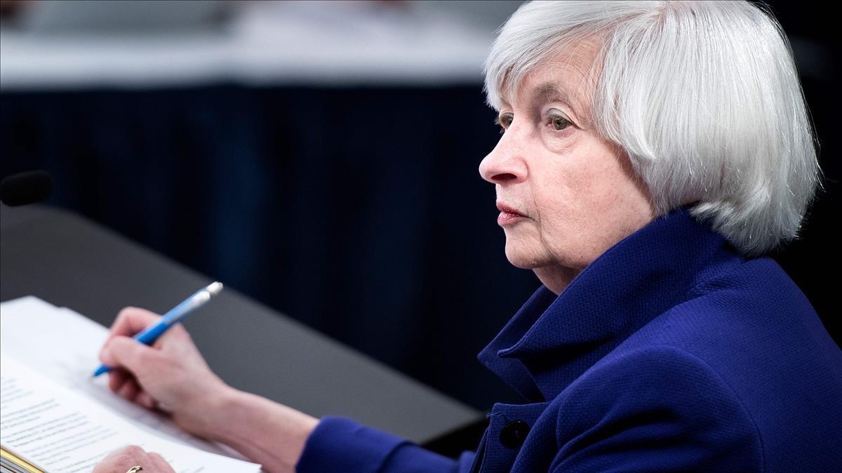 Yellen se despide de la Fed manteniendo los tipos