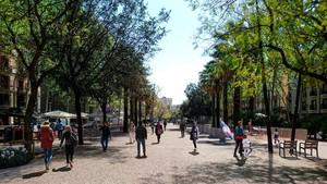 La rambla del Raval eliminarà obstacles per generar més vida de barri