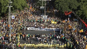 La lluita per la llibertat dels presos reprèn el carrer