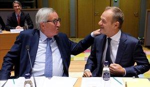 La UE es resigna al bloqueig del 'brexit'