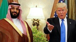 El príncipe saudí Mohamed bin Salmán y el presidente Donald Trump, en el Ritz Carlton de Riad, el 20 de mayo del 2017.