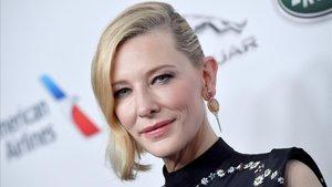 Cate Blanchett, el pasado 26 de octubre,en un acto publicitario en Beverly Hills.