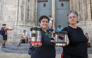Lola Barcia y Marinela Forcadell fotografian el mundo con sus latas