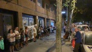 Els barris de Barcelona protesten al carrer per la inseguretat