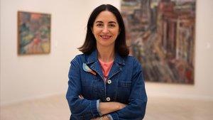 La chef de cocina Elena Arzak, este lunes en el Festiva de Cine de San Sebastián.