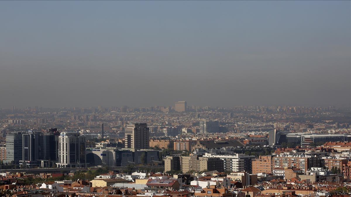 Contaminación la Madrid