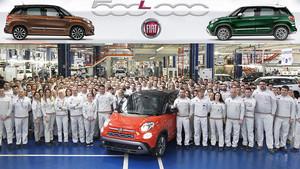 La fábrica de Serbia se reformó expresamente para fabricar el 500L.