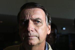 RIO DE JANEIROBRASILJair Bolsonaro nego que su Gobierno pretenda menospreciar las relaciones de Brasil con Chinael principal socio economico del paisEFE MARCELO SAY O