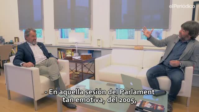 Artur Mas: «Per a un independentista pur, la sentència de l'Estatut va ser una benedicció»