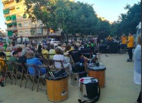 Acto de conmemoración del primer aniversario del 1-O el pasado domingo en Gavà