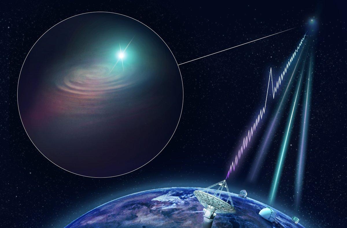 La misteriosa onda de radio que proviene de una lejana galaxia