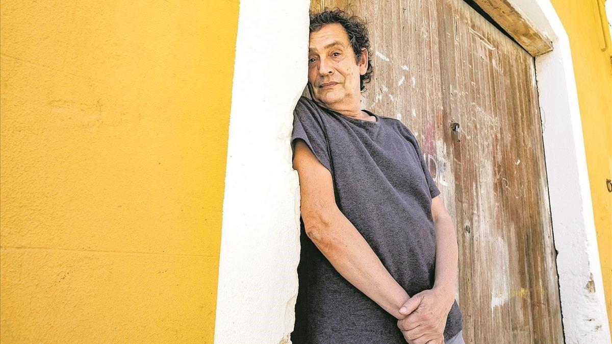 Agustí Villaronga, en el barrio de El Terreno de Palma