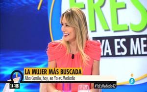 Alba Carrillo en Ya es mediodía.