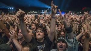 Ambiente en la pasada edición del Rock Fest