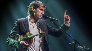 Andrew Bird, durante el concierto del viernes en la sala Barts.