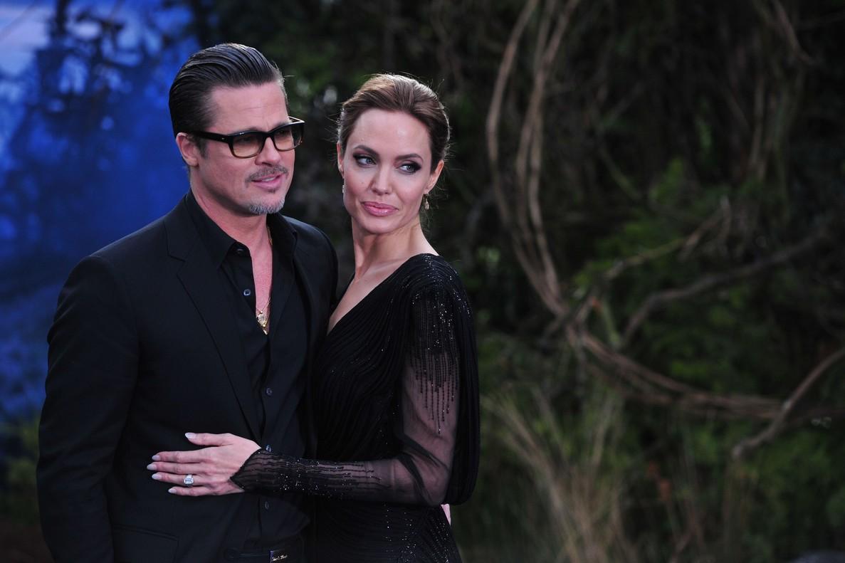 Angelina Jolie y Brad Pitt, en mayo del 2014, en Los Ángeles.