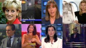 Así informaron las cadenas españolas sobre la muerte de Diana de Gales en 1997.