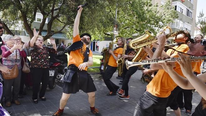 La Bandarra Street Orkestra, en el Gornal