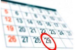 Calendario bisiesto.