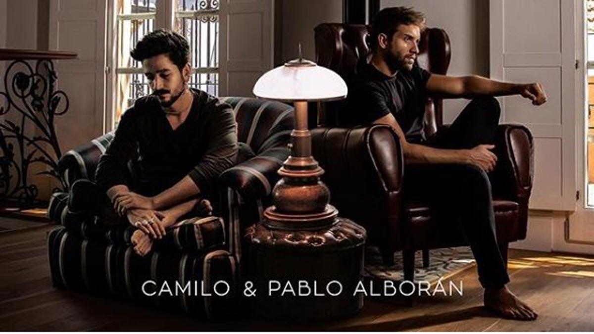 Camilo y Pablo Alborán lanzan 'El mismo aire'.