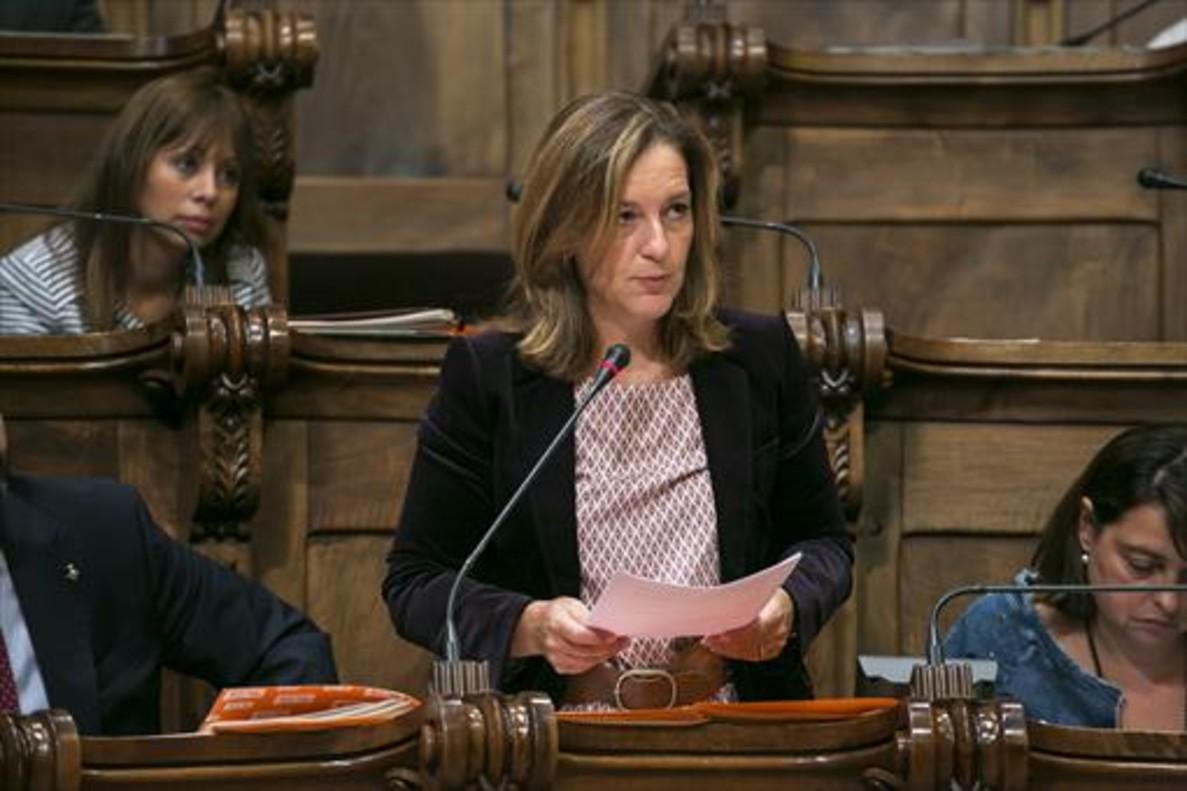 Carina Mejías, concejala de Ciutadans en Barcelona.