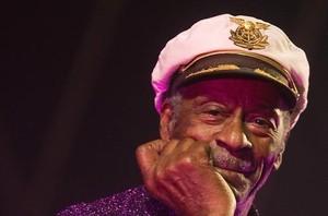 Chuck Berry, en Burgos el 2007.