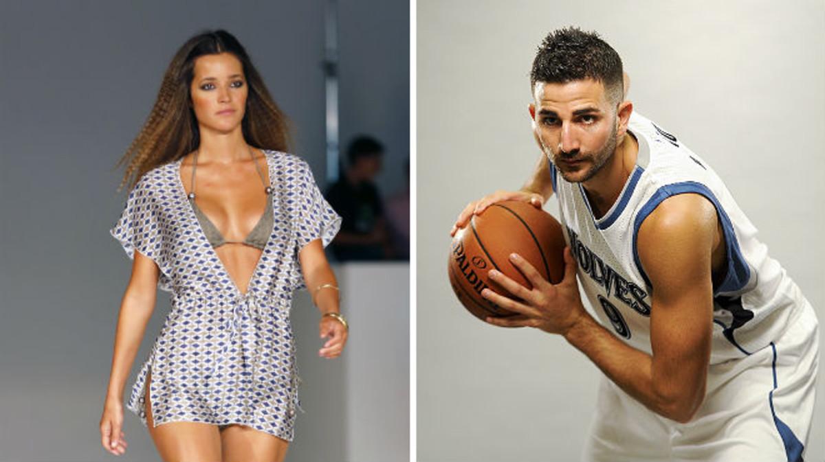 La modelo Malena Costa y el jugador de baloncesto Ricky Rubio tienen cuenta en Vippter.