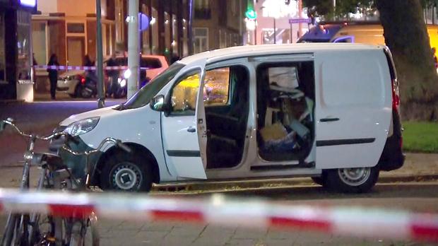 El conductor espanyol duna furgoneta desencadena una alerta terrorista a la ciutat de Rotterdam.